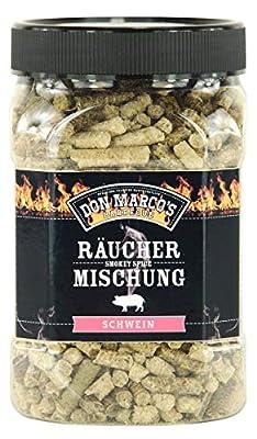 Don Marco's Smokey Spice Räuchermischungen Schwein in der 450g Dose, Räuchermischung
