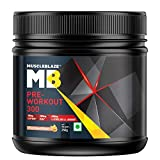 MuscleBlaze PRE Workout 300 (250gm, Fruit Punch)