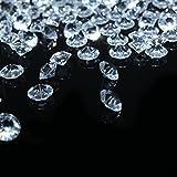 Bitfly diamantes de acrílico de decoración para boda, fiesta de cumpleaños, cristales decorativos, Decoración de jarrón de flor, peces, jardín, transparente, 500pc/lot 10mm