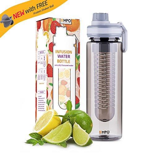 [Tritan Libre de Bifenol de Tipo A] EMPO Botella de Agua con Infusor de...