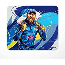 Jbn Rohit Sharma - Mumbai Indians : Designer Mouse Pad | Premium Gaming Mousepad | Anti-Slip Rubber Base | Designer Mouse Pad | Anti Skid Technology Mouse Pad for Laptops and Computers | Pack of 1
