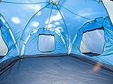 Skandika Daytona XXL blau, hellblau Familien-Zelt für 6 Personen, wasserdicht - 5