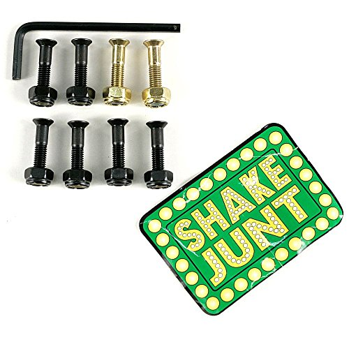 Shake Junt Andrew Reynolds Pro Skateboard Schrauben 2,5cm Set von 8