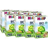 Hipp Organic Infant Formula Pre - de la naissance, (8 x 600g)