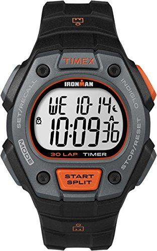 Uhren Ironman (Timex Herren-Armbanduhr Digital Quarz Plastik TW5K90900)