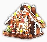 new store Lebkuchen Hexenhaus Pfefferkuchenhaus 900 gr. zum Selberbauen