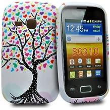 Accessory Master - Funda para Samsung Galaxy Young, multicolor
