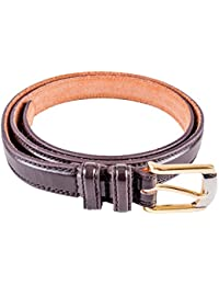 Men's belt, quality, durability, trouser waist belt 2701 Brown