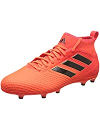 adidas Men's Ace 17.3 Fg Footbal Shoes, Bianco