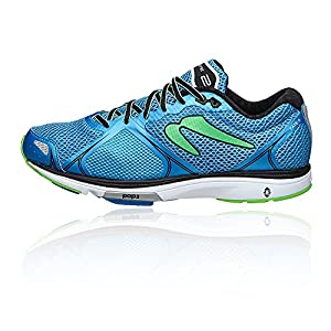 Newton Running Men's Fate II Shoe, Zapatillas Hombre, Azul (Blue/Green), 42 EU
