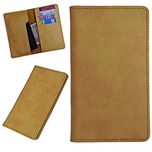 DCR Pu Leather case cover for vivo Y22 (yellow)