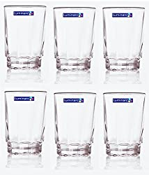 Luminarc Maisha Poa H/B Tumbler Glassses - Set of 6 -270 ML