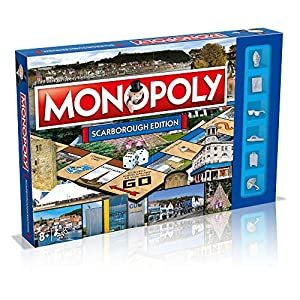 Monopoly 035378 Scarborough, alfonbrilla para ratón
