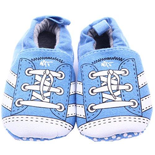 xhorizon® Baby Kinder PU LederStoffKleinkindSchuhe Sandale Hellblau