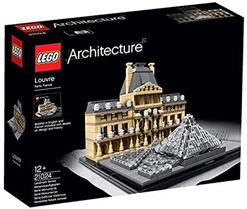 LEGO - 21024 - Architecture - Jeu de Construction - Le Louvre