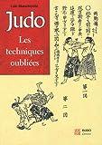 judo les techniques oubli?es