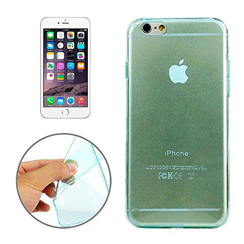 Handy-Hüllen & Hüllen, 0.45mm Ultra-dünner TPU Fall für iPhone 6 u. 6S ( Farbe : Grün )