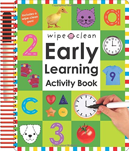 Early Learning Activity Book Cover Image