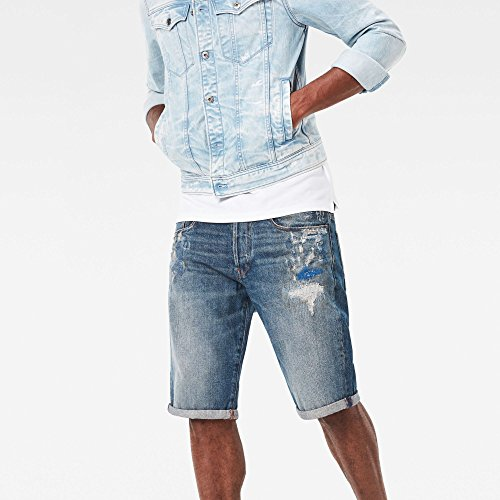 G-STAR RAW Herren Shorts Mehrfarbig (Medium Vintage Aged Restord 8323)