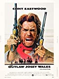 The Outlaw Josey Wales Movie Poster Masterprint (27,94 x