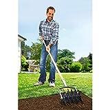 Kultivator, Gartenwerkzeug, Gartengerät, Rollkultivator, Gartenrechen, Gartenzubehör, Metall, 20 x 16 cm