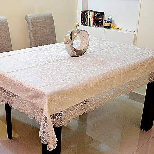 chen Stil Tuch Tisch Tuch multifunktionale Marcus: Blair Seide Abdeckung Handtuch Jacquard Wasser lösliche Glas Garn Th ()