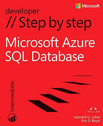 Preisvergleich Produktbild Windows Azure SQL Database Step by Step (Step by Step Developer)