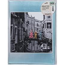 Album Portafoto da 160 foto 13x19 con memo in 3 modelli diversi (Celeste Venezia)
