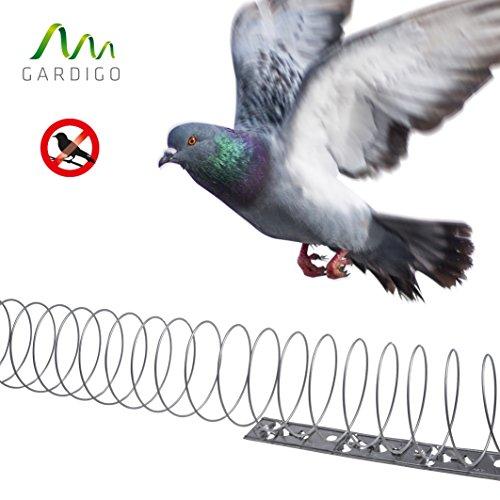 Gardigo - 5 Mètres Spirale Effaroucheurs Répulsif Anti-Pigeons, Oiseaux