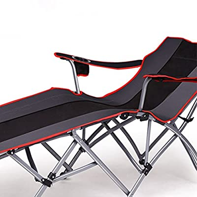 Xi Man Shop Multifunctional recliner | Folding bed | Single bed | Napping chair | Adult outdoor portable simple camp bed from Xi Man Shop