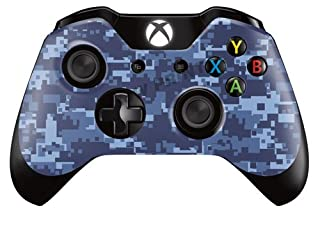 Xbox One Controller/Gamepad Skin / Cover / Vinyl Wrap - Blue Digital Camouflage Design (Pack of 2 Skins) (B00I7W0X1O) | Amazon price tracker / tracking, Amazon price history charts, Amazon price watches, Amazon price drop alerts