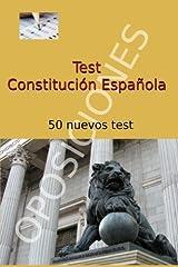 Test de Constitución Española: 50 nuevos test Tapa blanda