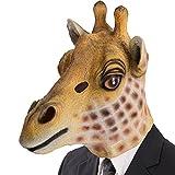 Carnival Toys 1492 Maske Giraffe, One Size