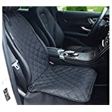 Petslover Front Waterproof Seat Cover for Pets 800 Oxford Fabric Material Protect Your Seat with Anchors, Quilted…