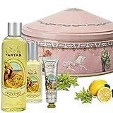 Französisches Beauty Geschenkbox Provence - Parfum : Bergamotte, Verbena, Zitrone. Enthält 1...