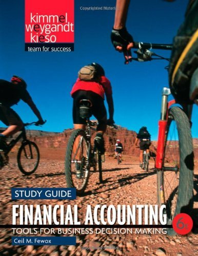 Financial Accounting, Study Guide: Tools for Business Decision Making by Paul D. Kimmel (2011-01-04)