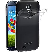 Samsung Galaxy S4 Custodia, iVoler® Soft TPU Silicone Case Cover Bumper Caso,[Cristallo Chiaro] [Estremamente Sottile] [Semi Transparente] [Shock-Absorption e Anti-Scratch] Slim Anti Slip Case Protector Cover per Samsung Galaxy S4 (Crystal Clear)- 18 Mesi di Garanzia