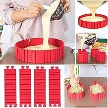 Magic Bake Snakes Silicona Cake Moldes Hornear Diy Todas las clases de molde de la torta Herramientas de hornear Hornear utensilios de molde pastelería herramientas 4 piezas / paquete