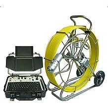 GOWE 120m de cable de PAN y TILT rotación Pipeline alcantarillado inspección cámara sistema de robot con función de contador de metros