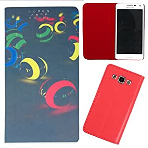 DooDa - For Lava Xolo A500 PU Leather Designer Fashionable Fancy Flip Case Cover Pouch With Smooth Inner Velvet