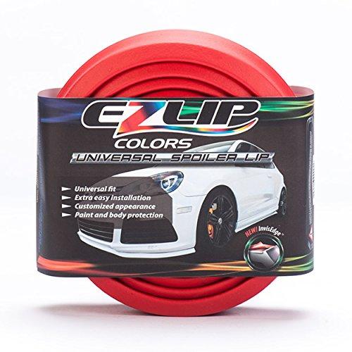 Preisvergleich Produktbild EZ-Lip EZ-LIP COLORS RED Original Universal Tuning Frontspoiler Lippe, Rot
