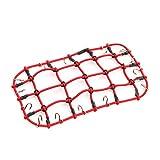 LaDicha Red De Equipaje Elástica Para 1/10 Traxxas Trx-4 Rc Car Rock Crawler Parts 11X20Cm - Rojo