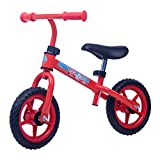 Rocket Bunny® Lightweight Adjustable Height Children Kids Balance Bike for 2, 3, 4 Years old (Red)