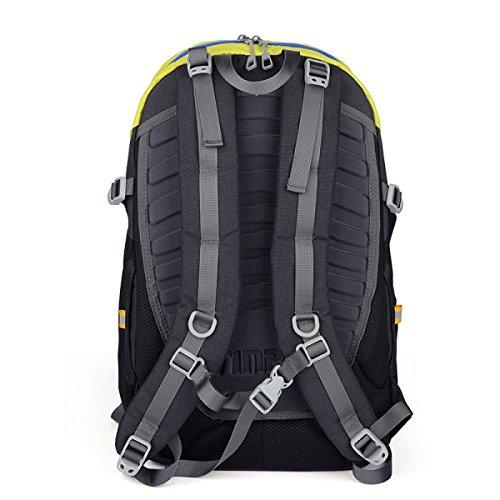 Zaino Da Tavolo Leggero Leggero Tasca Sportiva Impermeabile Ultraleggera Da Viaggio Arrampicata Zaino Da Trekking,Green Gray