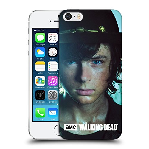 official-amc-the-walking-dead-carl-characters-hard-back-case-for-apple-iphone-5-5s-se