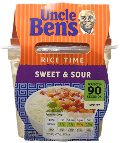 uncle-bens-ricetime-sweet-sour-300g-pack-of-5