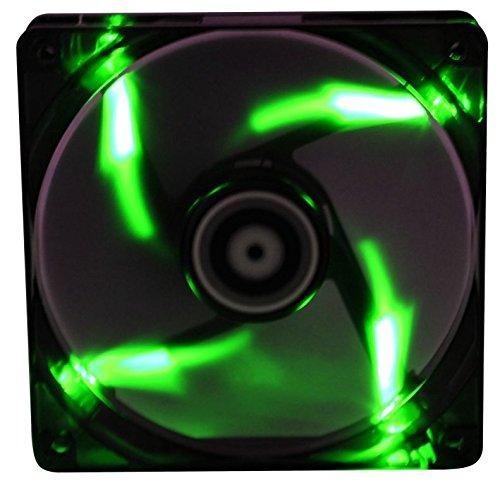 BitFenix Spectre 200mm Lüfter grün LED schwarz