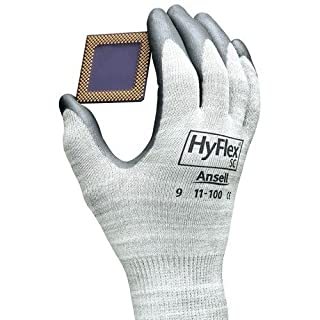 Ansell-Edmont 11-100 Hyflex Static Control Assembly Gloves, Size 9 (Large), 12 Pairs/Pkg. by Ansell