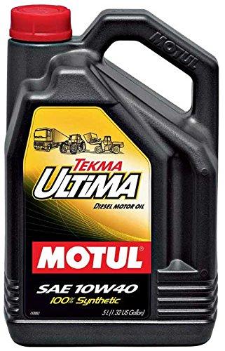 MOTUL - 106455 : ACEITE LUBRICANTE MOTOR TEKMA ULTIMA 10W40 5L
