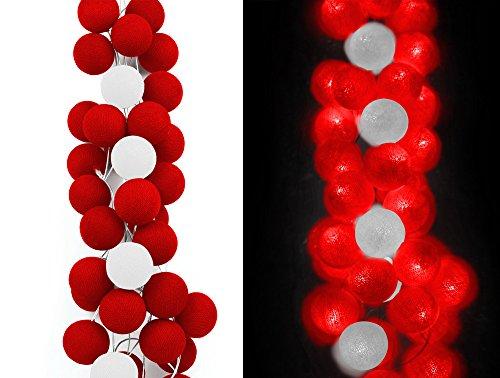 autentici-sfere-cable-cotton-manchester-united-collezione-calcio-ghirlanda-di-50-sfere-luminose-per-